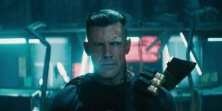 Cable about to fight