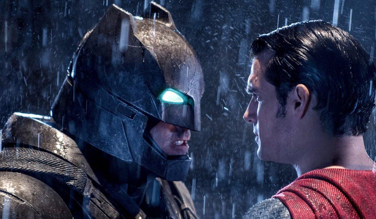Batman v Superman: Dawn of Justice Batman squares up against Superman