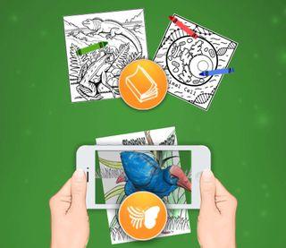 Coloring App Brings Artwork to Life