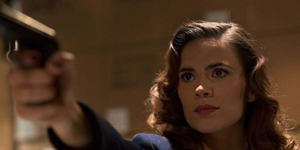Agent Carter, setting her sights