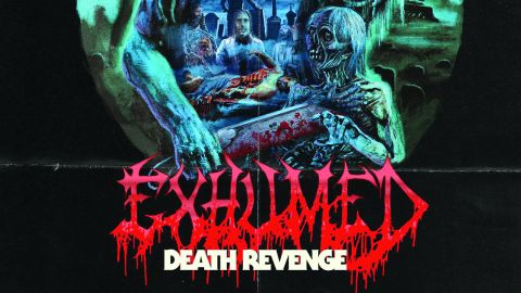 Cover art for Exhumed - Death Revenge album