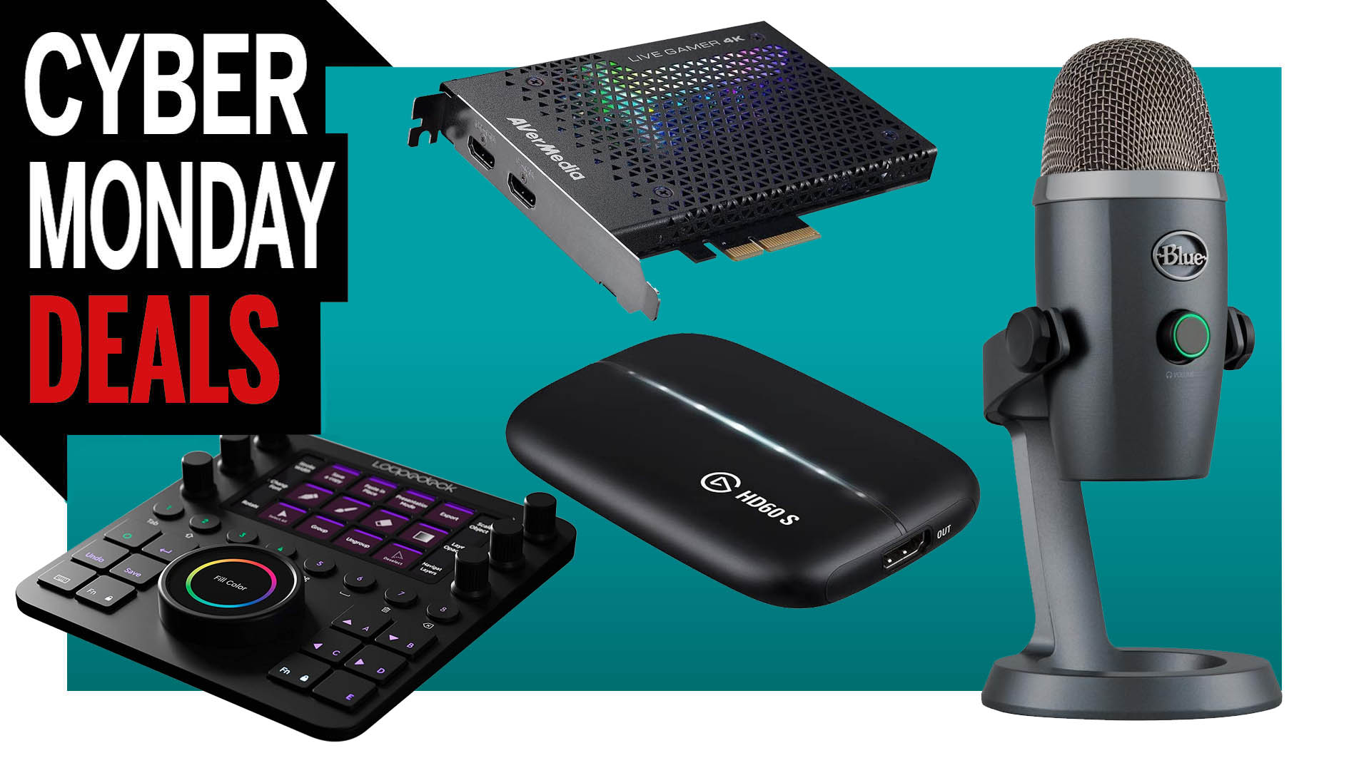 The best Cyber Monday deals for streamers and content creators