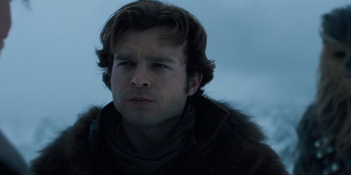 Solo: A Star Wars Story Alden Ehrenreich as Han Solo
