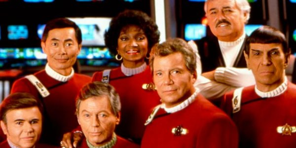 Star Trek VI: The Undiscovered Country The Enterprise crew poses for one last photo