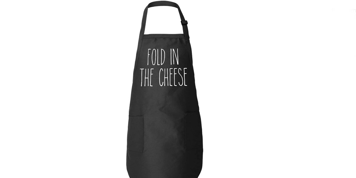 A Fold In The Cheese Kitchen Apron