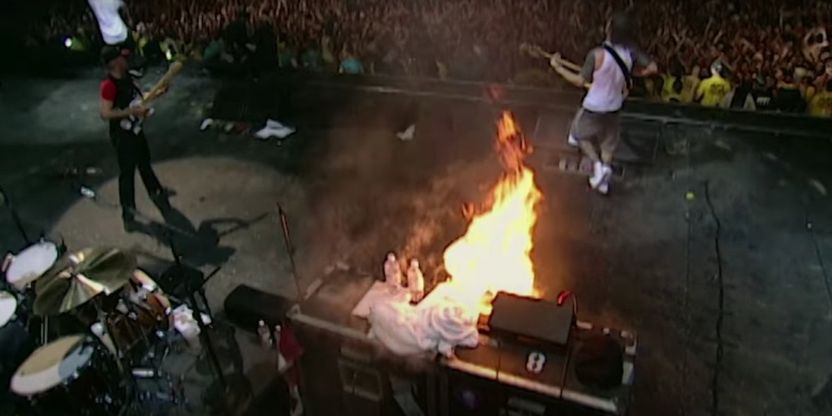 Rage Against the Machine in the Woodstock '99: Peace, Love, and Rage trailer
