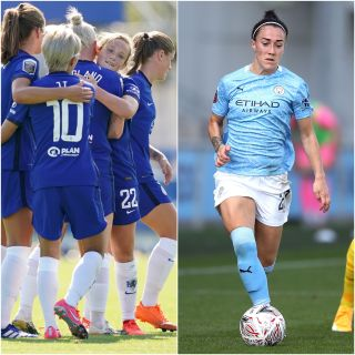 Chelsea celebrated a thumping win, but Lucy Bronze endured a frustrating Manchester City debut