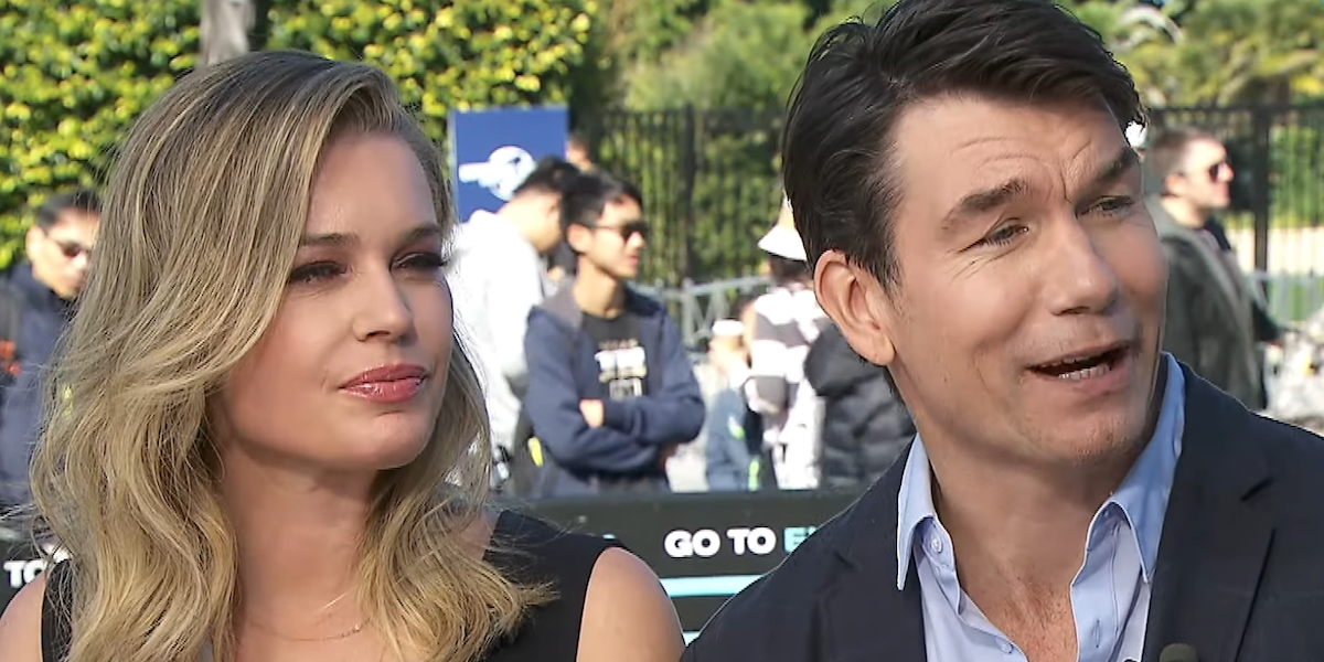 rebecca romijn jerry o'connell extra interview