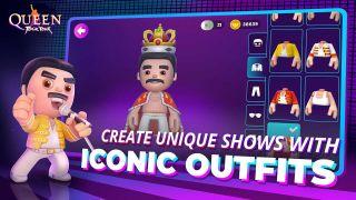 Queen mobile game screenshot