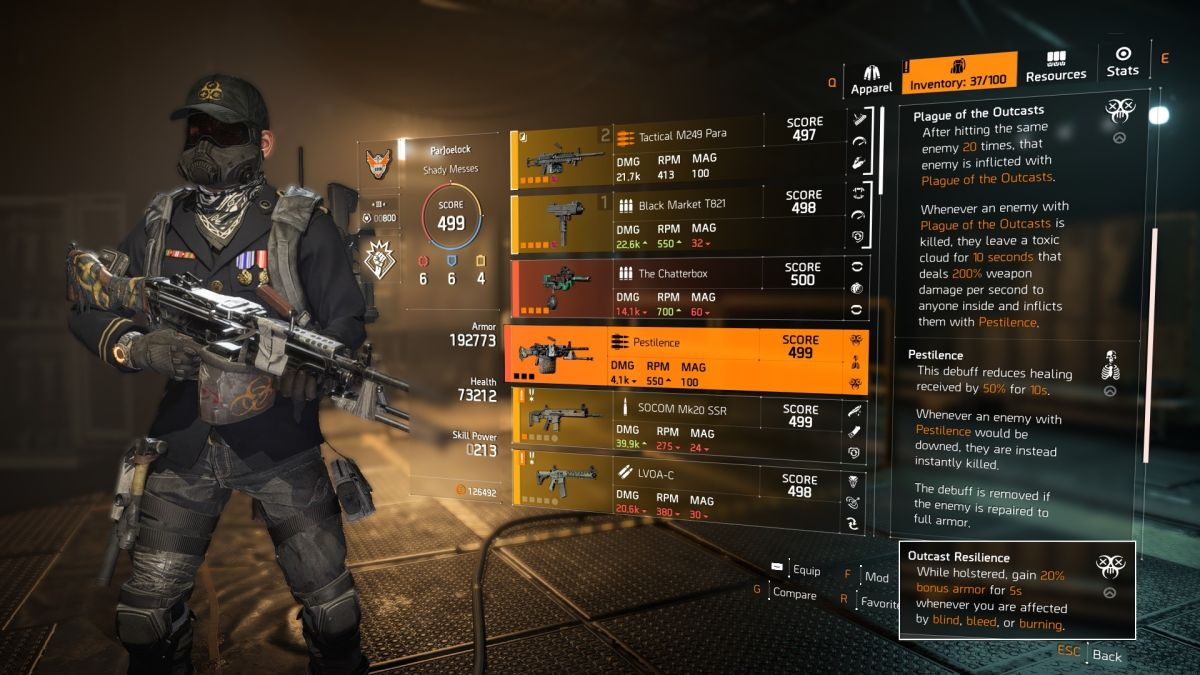 The Division 2 test patch adds more Dark Zone loot and