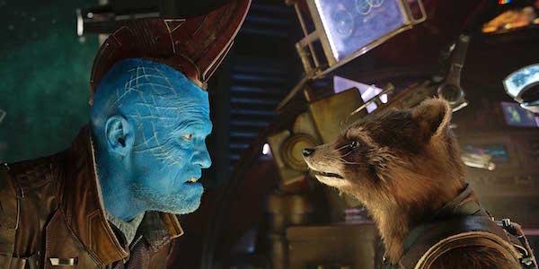 Yondu and Rocket in Guardians 2