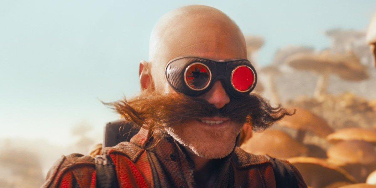 Jim Carrey as Dr. Robotnik in Sonic the Hedgehog (2020)