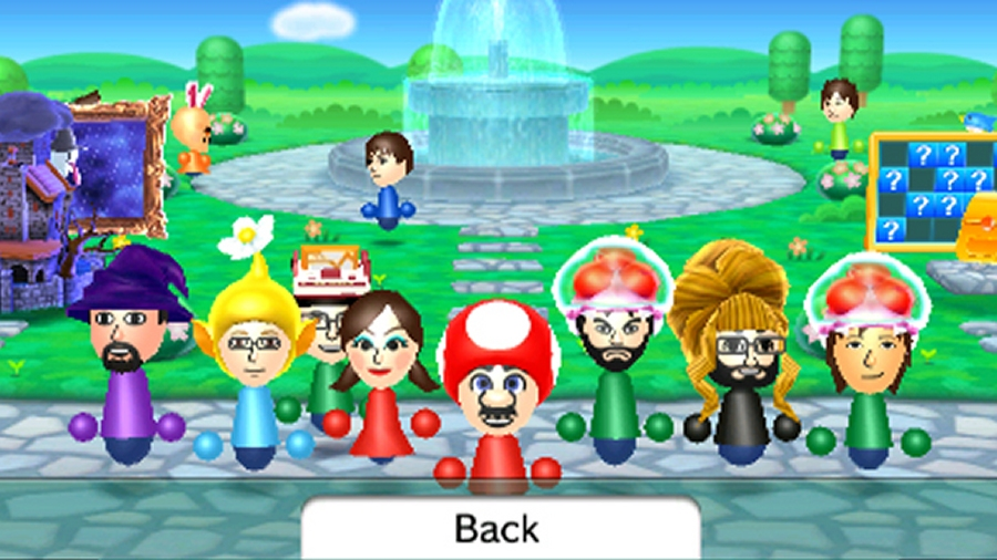 3ds Update Adds Save Back Ups New Mii Plaza Games Cinemablend