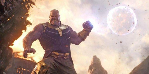 Avengers Infinity War Thanos titan moon