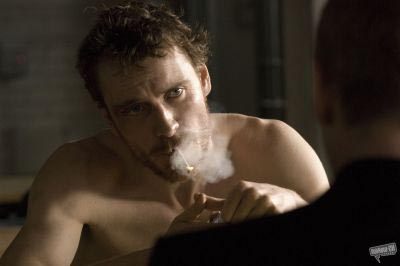 Hunger - Michael Fassbender and Liam Cunningham