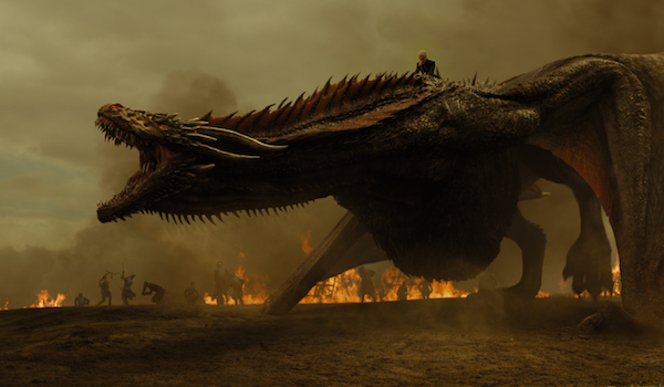 game of thrones drogon battle