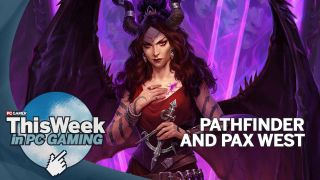 This Week in PC Gaming feature image featuring Demonic lady from Pathfinder Wrath of the Righteous