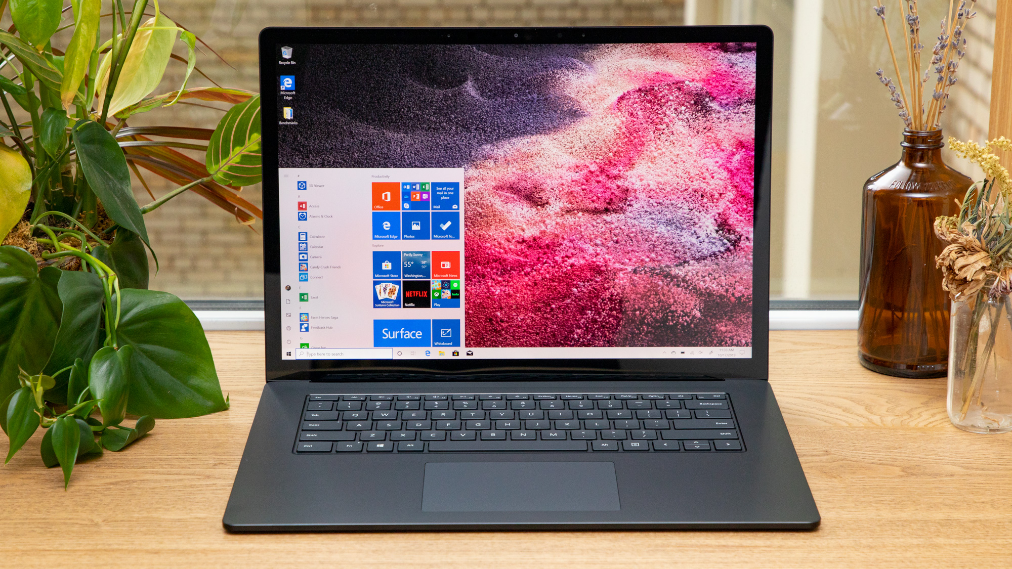 The 15-inch Surface Laptop 3 marks an unprecedented debut of AMD silicon within a flagship laptop.