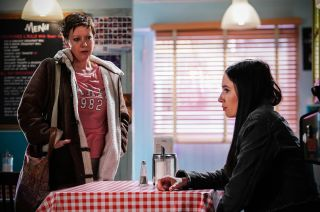 Dotty Cotton meets Sandy Gibson in EastEnders