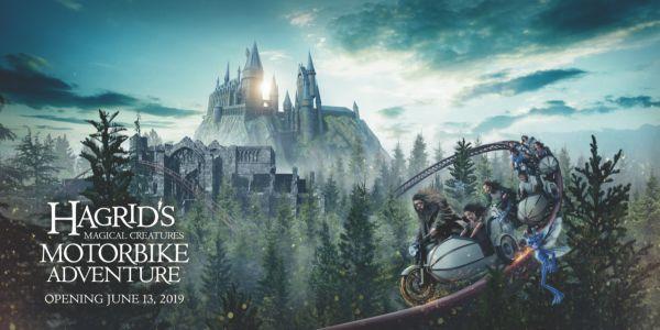 Hagrid's Magical Creatures Motorbike Adventure promotional image