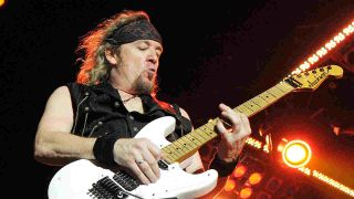 Adrian Smith of Iron Maiden