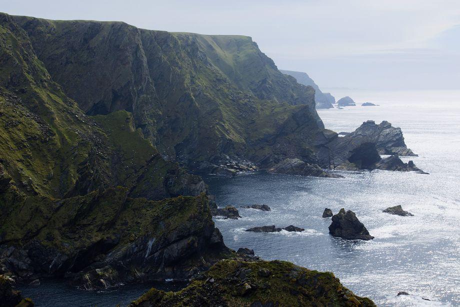 Shetland crags