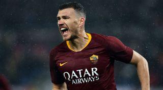 Edin Dzeko Roma West Ham United