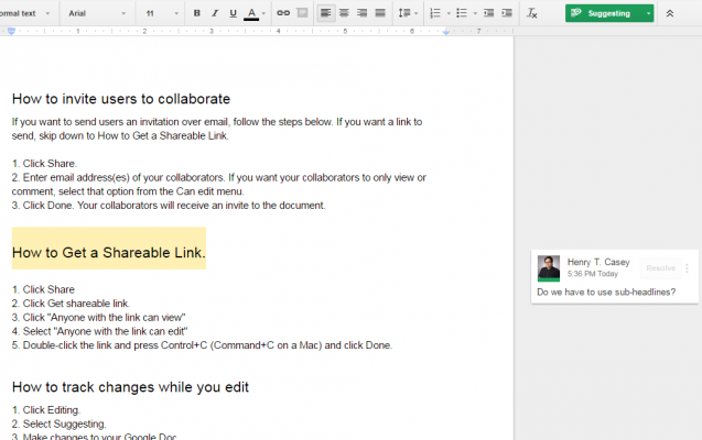 How to Track Changes in Google Docs | Laptop Mag