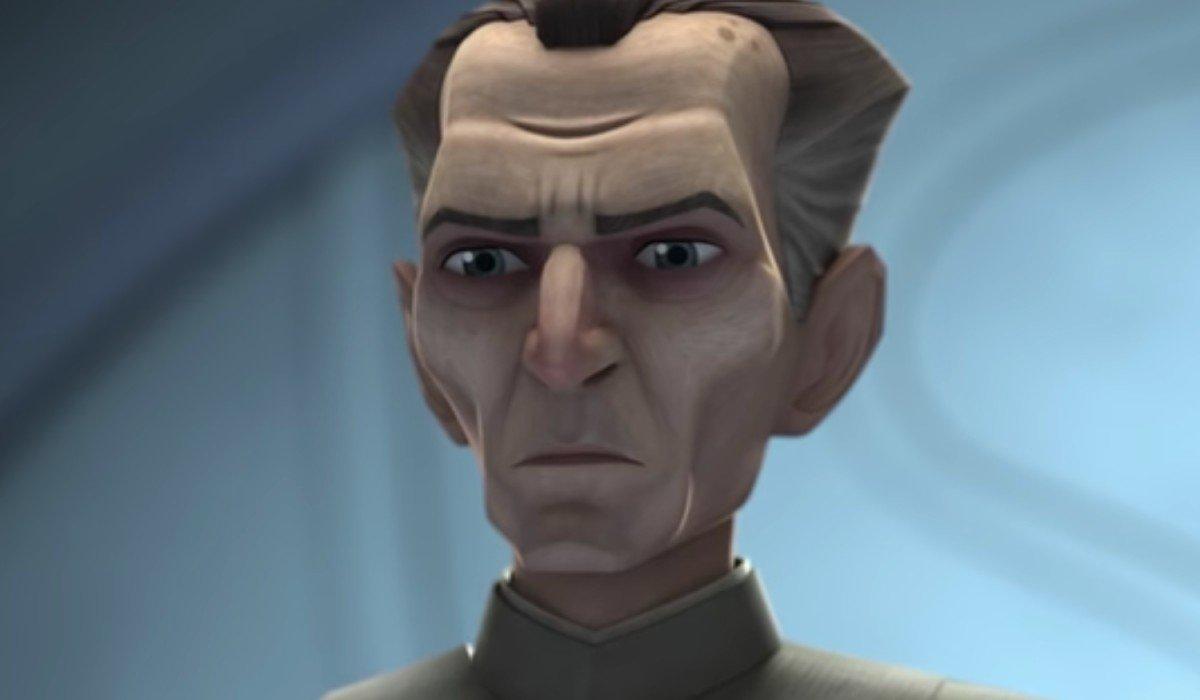 Grand Moff Tarkin staring Star Wars: The Bad Batch Disney+