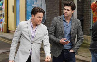EastEnders Matt Clarkson and Ross Swinden