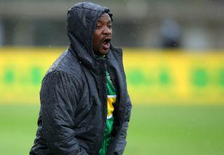 Golden Arrows coach Lehlohonolo Seema