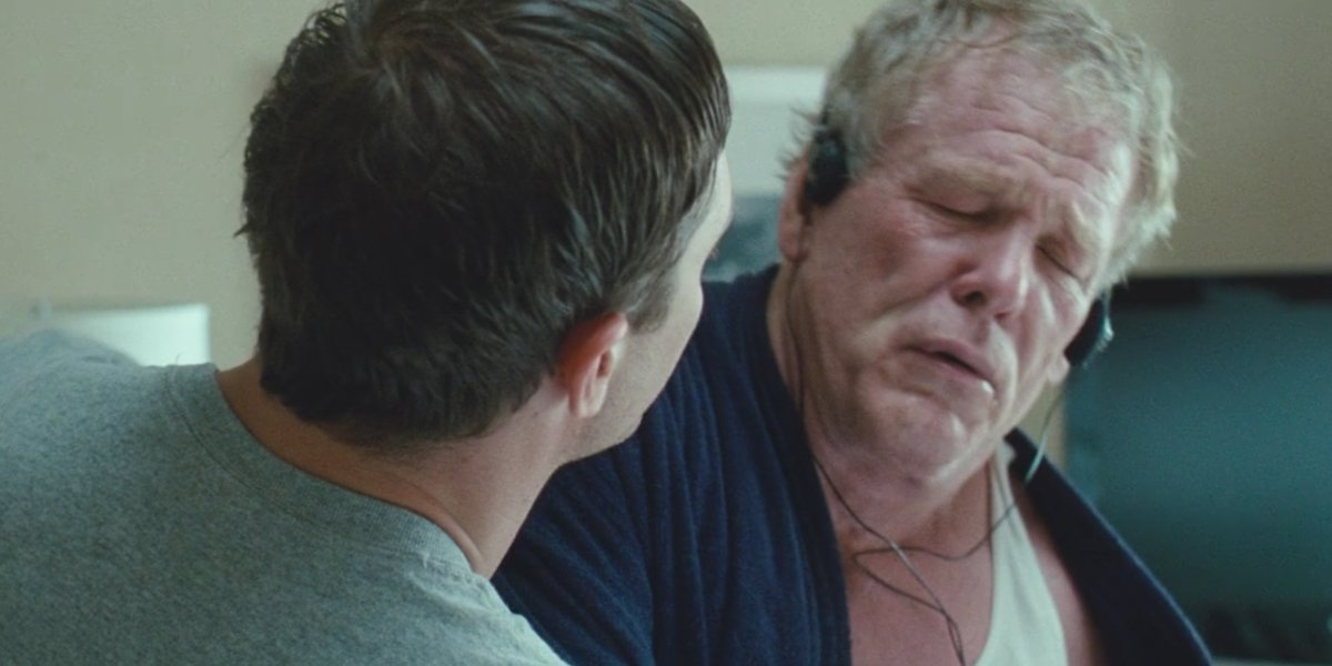 Tom Hardy and Nick Nolte in Warrior