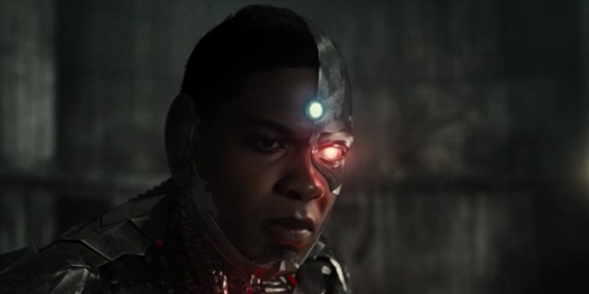 Cyborg seeing his father in ZSJL