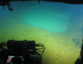 Using underwater vehicles, the international team discovered the pools in the crater of the Santorini volcano.