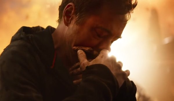 Iron Man sad Avengers Infinity War