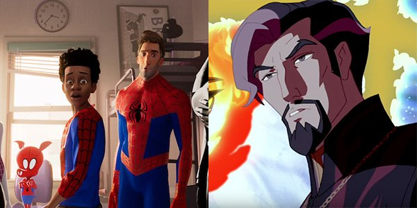 Spider-Man: Into the Spider-Verse & Doctor Strange