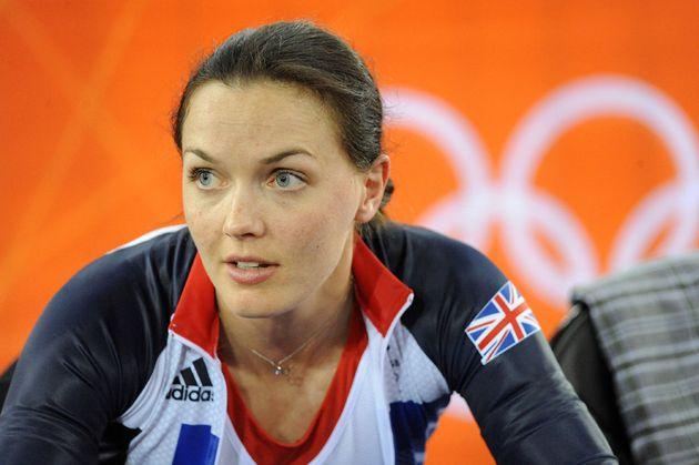 Victoria Pendleton, London 2012 Olympics, track training, 30 July 2012