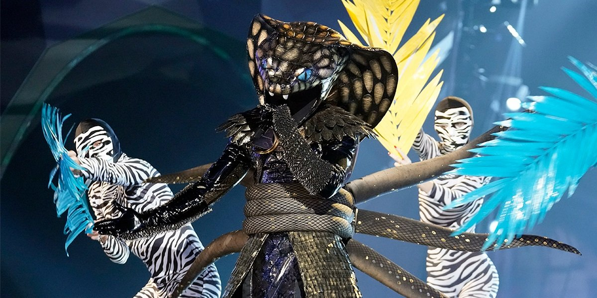 Even The Masked Singer's Serpent Couldn't Believe He Was Asked To Join Season 4