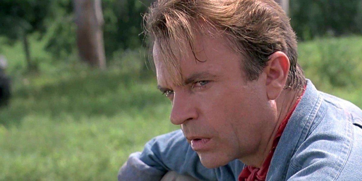 Sam Neill as Dr. Alan Grant in Jurassic Park (1993)