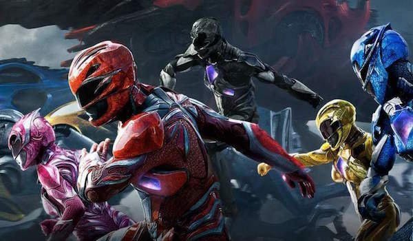 Power Rangers running into action
