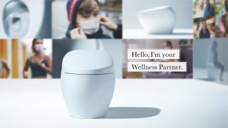 The Toto Wellness Toilet, which analyzes your deposits to make dietary recommendations.