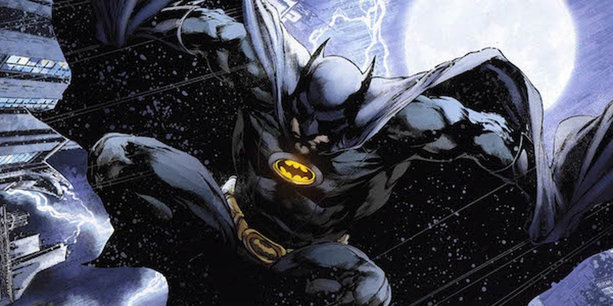 An illustrated comic book depiction of Batman