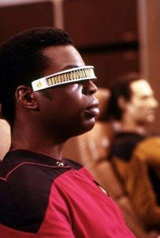 """Star Trek"" Next Generation Levar Burton"