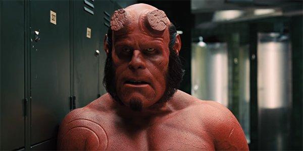Ron Perlman's Hellboy