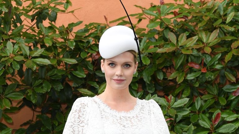 Lady Kitty Spencer attends day one of Royal Ascot at Ascot Racecourse on June 18, 2019 in Ascot, England