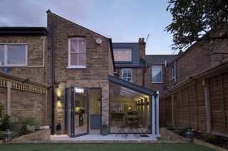 building an extension - single storey side extension