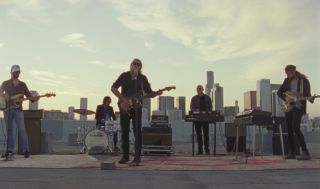 """The War on Drugs performing """"I Don't Live Here Anymore"""" on an LA rooftop"""