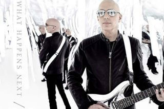 "Joe Satriani's ""What Happens Next"" Album Cover"