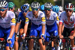 Deceuninck-QuickStep's Mattia Cattaneo on stage 4 of the 2020 Tour de Pologne