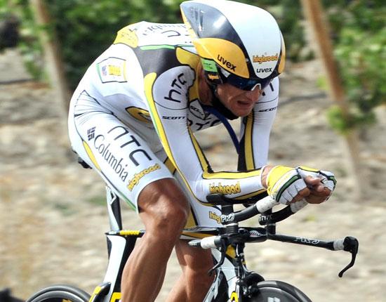 Peter Velits, stage winner, Vuelta a Espana 2010, stage 17 ITT